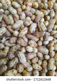 texture background of peanut, food background of groundnut, goober, or monkey nut.