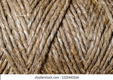 texture background rough twine rope macro closeup