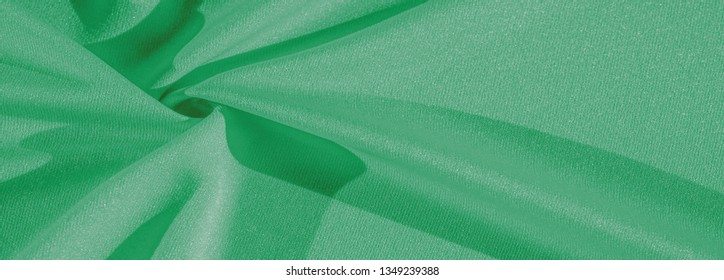 Texture, background, silk fabric, green women's shawl Convenient for your projects, the design of wallpaper cards