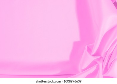 Texture. Background. Template. Cloth - silk pink. In color directly from the impressionistic painting, get lost in this dreamy carolina Silk Faille Glowing lilac color of thin ribbed fabric.