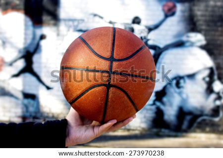 texture of a basketball