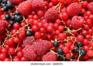 Texture of berries