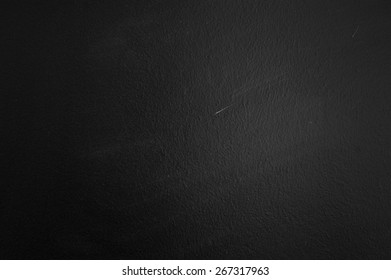 Texture of Black blank chalkboard for background