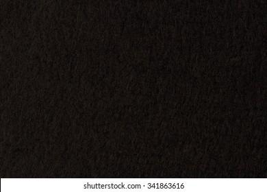 texture of  black felt