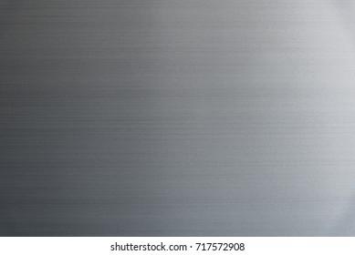 texture of black refrigerator door for background