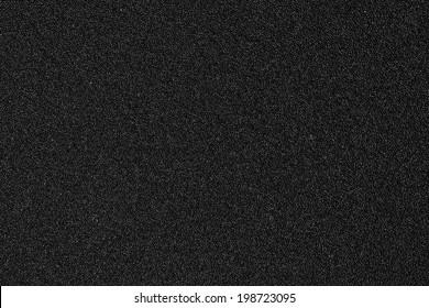 Texture of black sponge from speaker