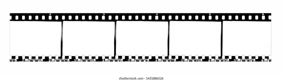 Texture of black and white film