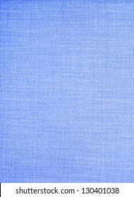 Texture of blue fabric background closeup