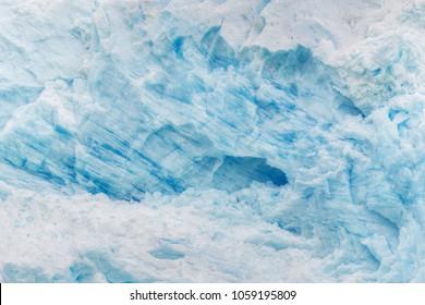 Texture of the blue ice. Perito Moreno Glacier, Patagonia, Argentina