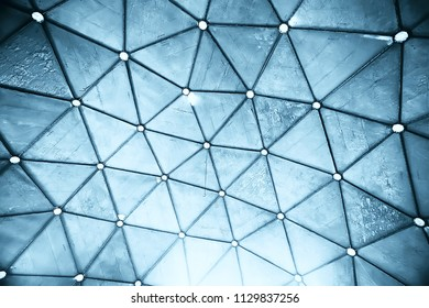 texture blue metal abstract background