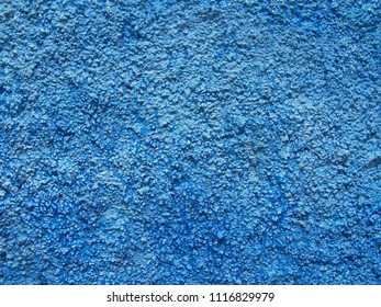 Texture - Blue Moroccan and Mediterranean Wall - Large Grain
