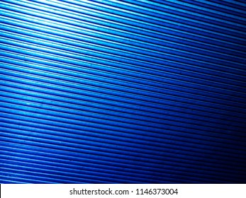 texture of blue roof lines of polycarbonate