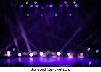Texture blur and defocus, background for design. Stage light at a concert show.