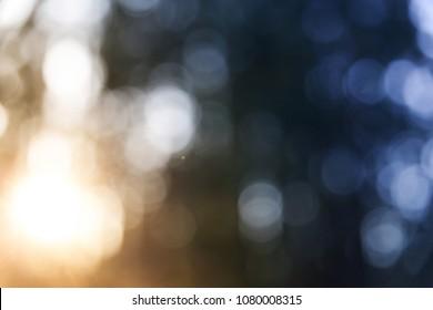Texture Boke on a bluish background.