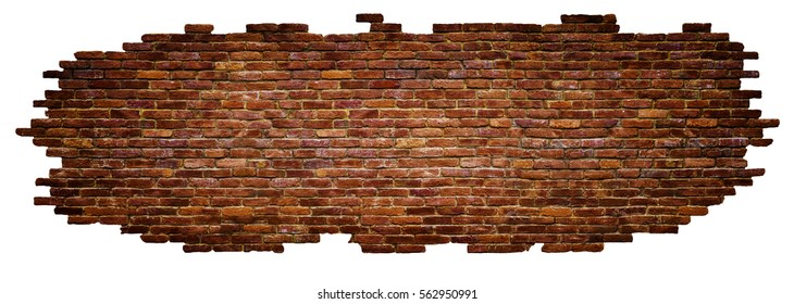 texture of brick wall High quality, isolated white