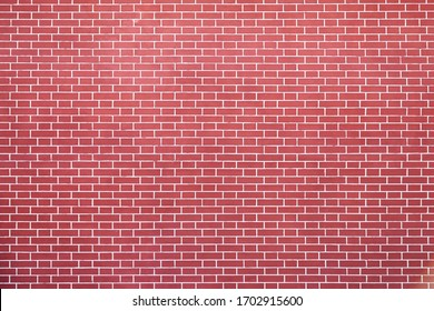 the texture of the brickwork of red brick.