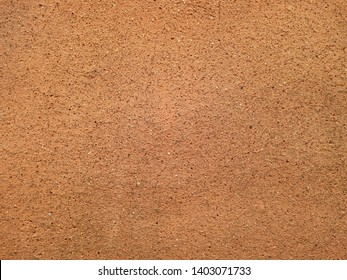 texture of brown earthenware clay