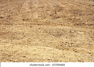 texture of brown soil