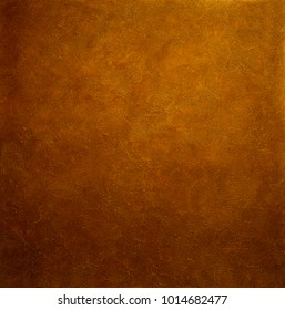 The texture of brown strokes in gloomy light. Silk texture, decorative coating for walls. Interior Design.