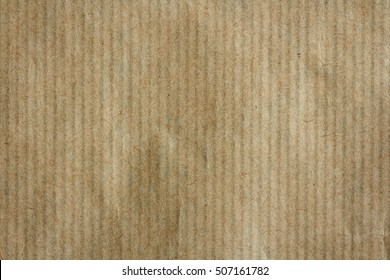 texture of brown wrapping paper stripes