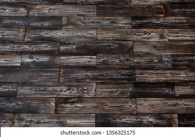 Texture of brush boards covered with paint and stain