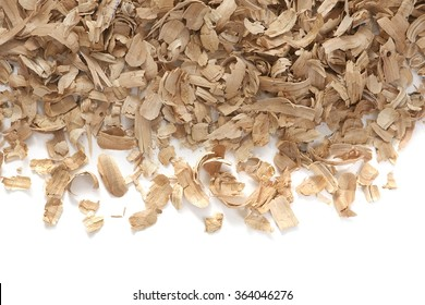 Texture of a building wood shavings. Building Concept. Wooden Plywood background.