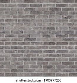 texture Burnt Brick. Tiling clean for background pattern. Rectangle mosaic tiles wall high resolution. Old or artificially aged in production