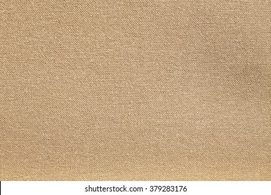 Texture canvas fabric as background light brown