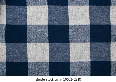 texture of the  checkered fabric pattern background