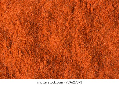 texture of chili powder close-up, spice or seasoning as background