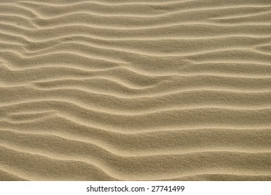 Texture Close Up of Sand Ripples 2