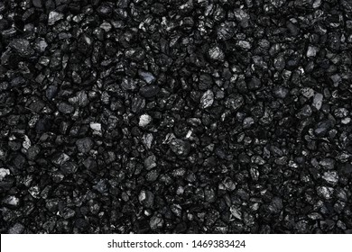 the texture of the coal