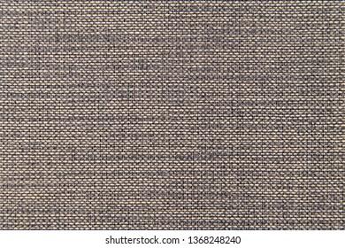 texture of coarse cloth canvas burlap brown close-up
