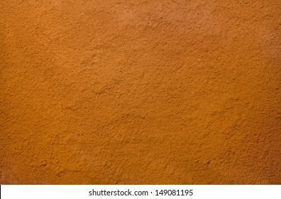 texture of cocoa powder without lumps