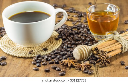 Texture of coffee beans that suitable for background,backdrop,wallpaper,display and artwork design.