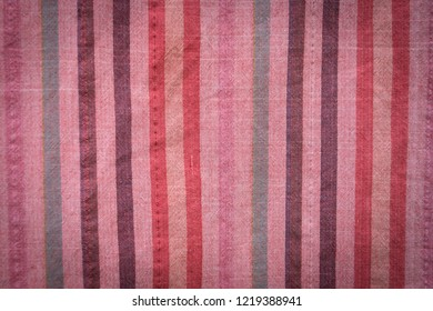 texture of colorful striped cloth, thai loincloth, abstract background concept