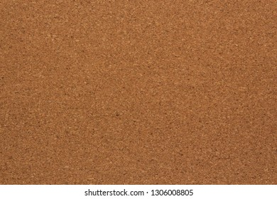 Texture cork board for notes, top view, background