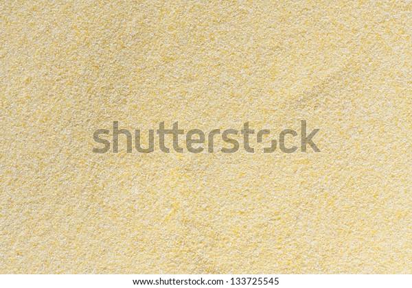 texture of corn flour closeup