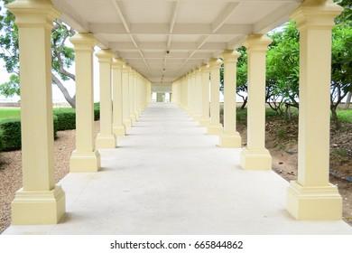 Texture of corridor