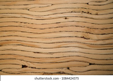 texture of cut of laminated veneer lumber