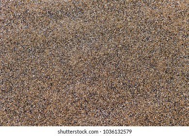 Texture of damp sea sand