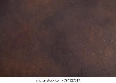 texture of dark metal with rust