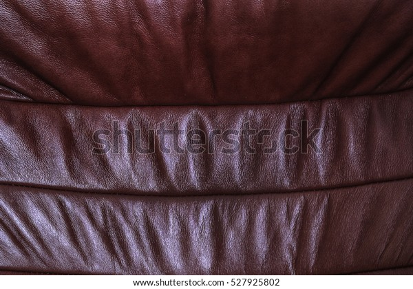 Texture Dark Red Leather Sofa Made Stock Photo (Edit Now ...