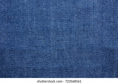 Texture and detail of blue jeans apron  for background.