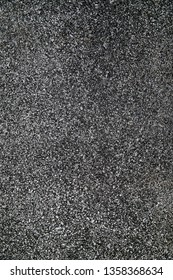 Texture details of  surface of asphalt on new road.