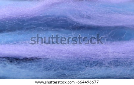 Texture Different Shades Blue Soft Merino Stock Photo (Edit Now