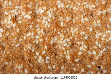Texture of dry flat breads as background