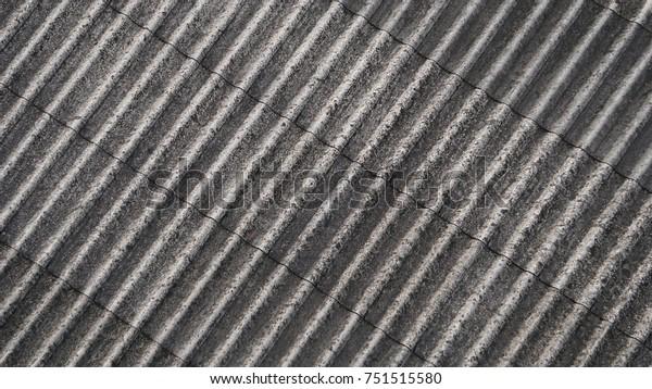Texture Fiber Cement Roof Sheet Beveled Stock Photo (Edit