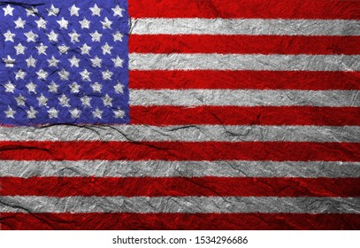 texture of the flag of the United States