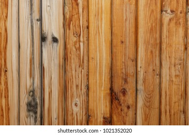 Texture in the form of a wall from old wooden boards